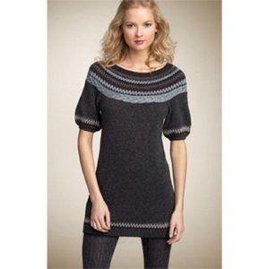 BCBG Maxazria Fair Isle Sweater Dress Size Small